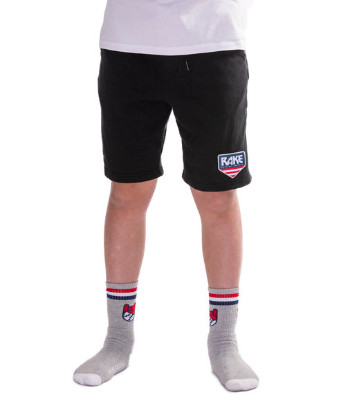 Rake USA Plate Fleece Shorts