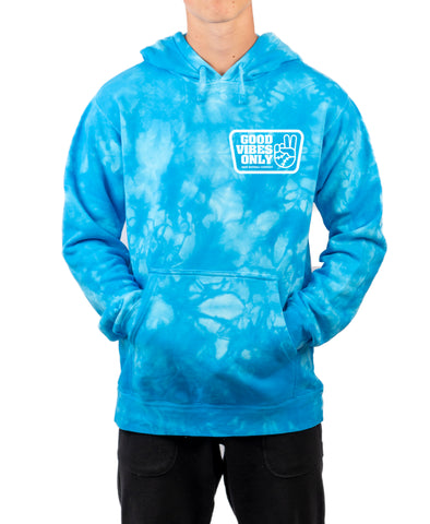 Good Vibes Only Box Tie Dye Hoodie