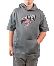 Youth Rake Man Short Sleeve Hoodie