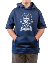 Youth Hitting Bombs Short Sleeve Hoodie