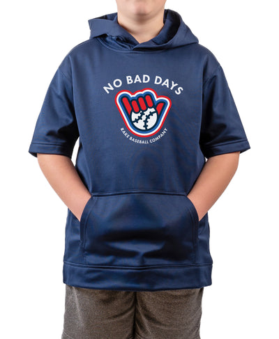Youth No Bad Days Short Sleeve Hoodie