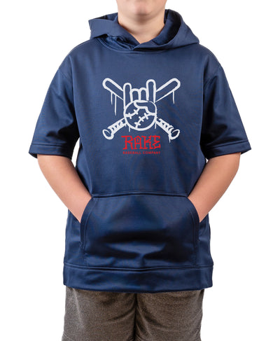 Youth Tagger Short Sleeve Hoodie