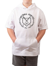 Youth Fastball Hunter Short Sleeve Hoodie