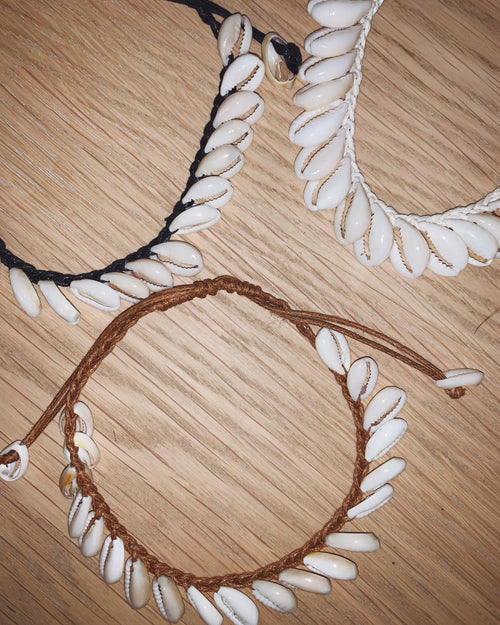 Cowrie Anklet