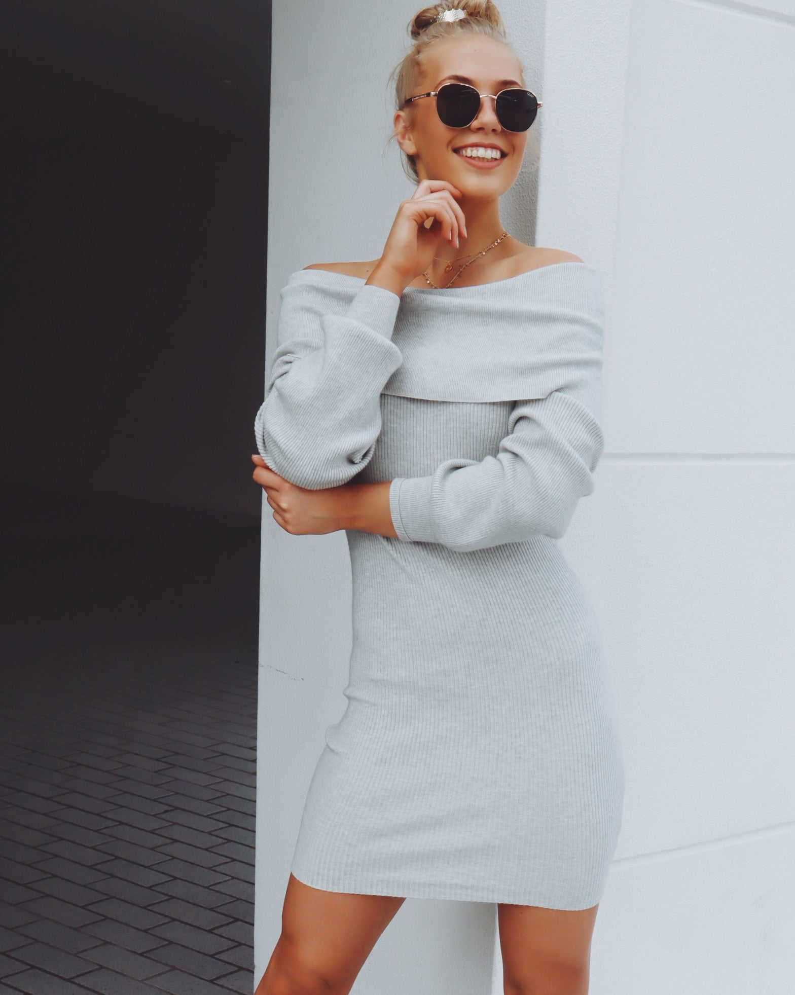 Chicago Dress - Grey