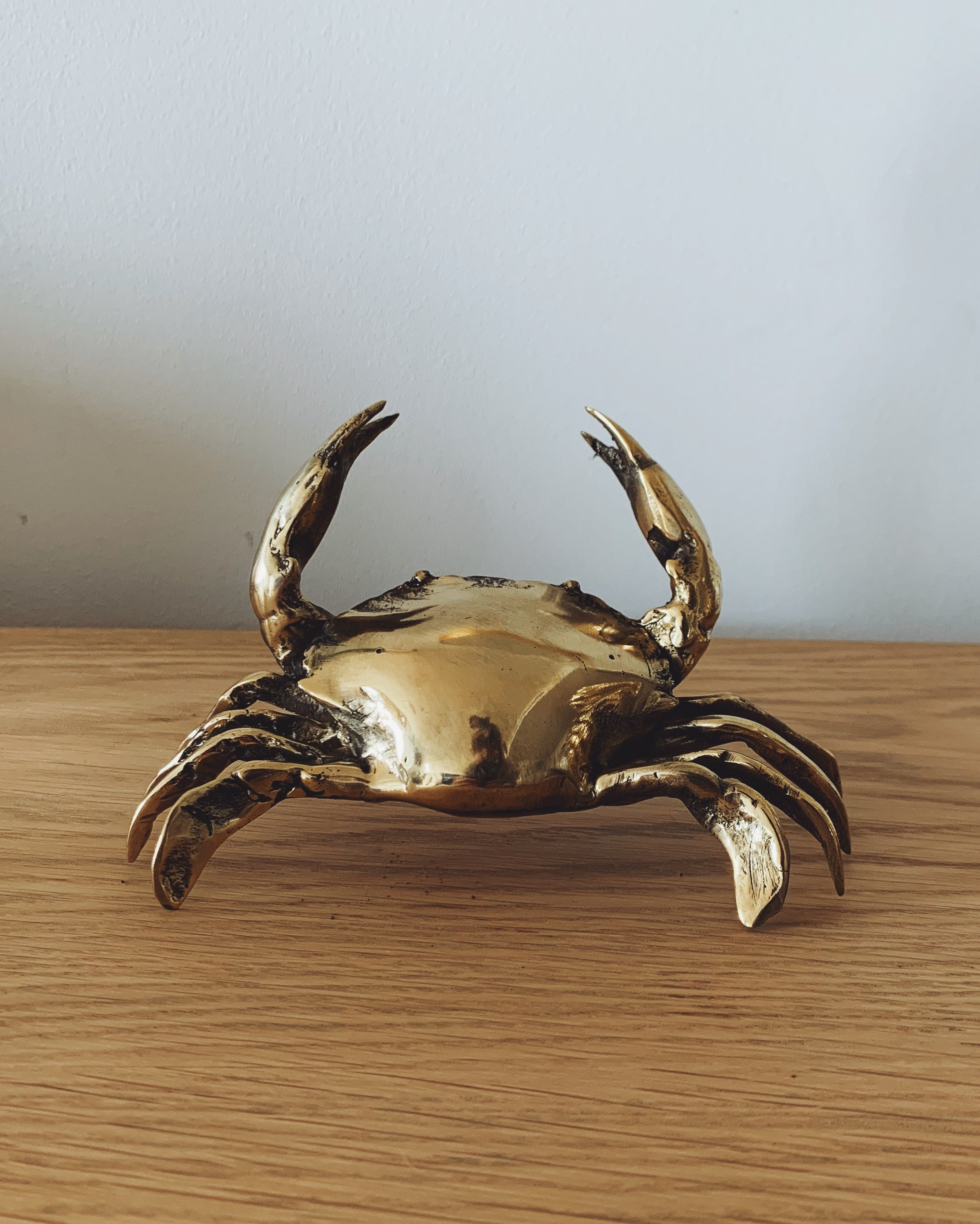 Brass Crab - Small