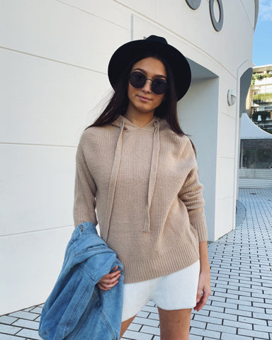 Gee Gee Knitted Set - Tan