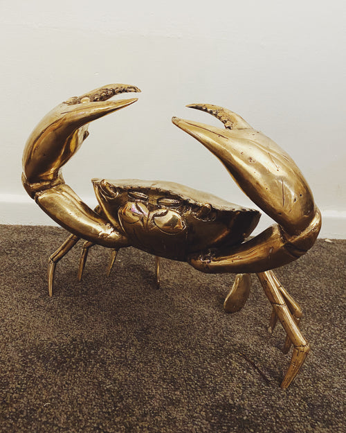 Brass Crab- Large
