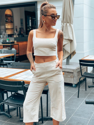 Sherry Wrap Top