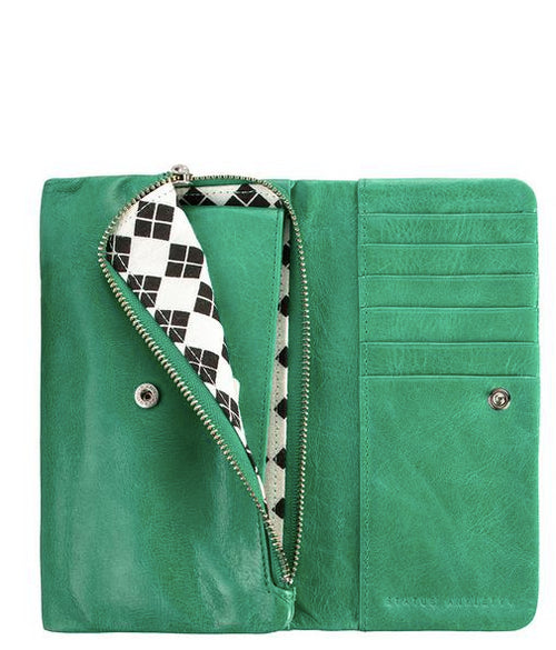 Audrey Wallet - Emerald