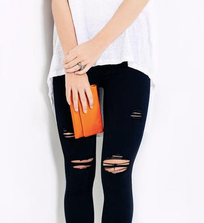 Audrey Wallet - Burnt Orange