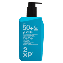 SPF50+ groms body 400mL
