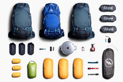 Backpacking for 3: Zipcar Members
