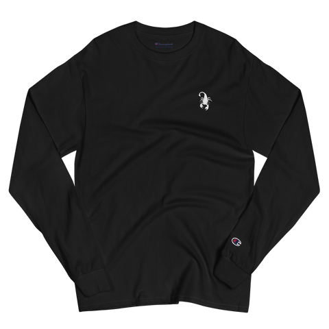 Scorpion Embroidered Champion Long Sleeve