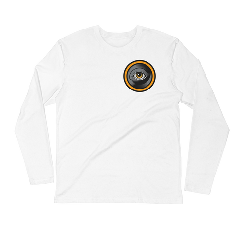 Next Level Long Sleeve Fitted Crew Eye Design