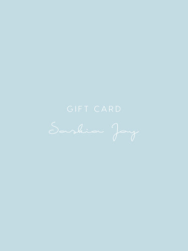 Saskia Joy Gift Card