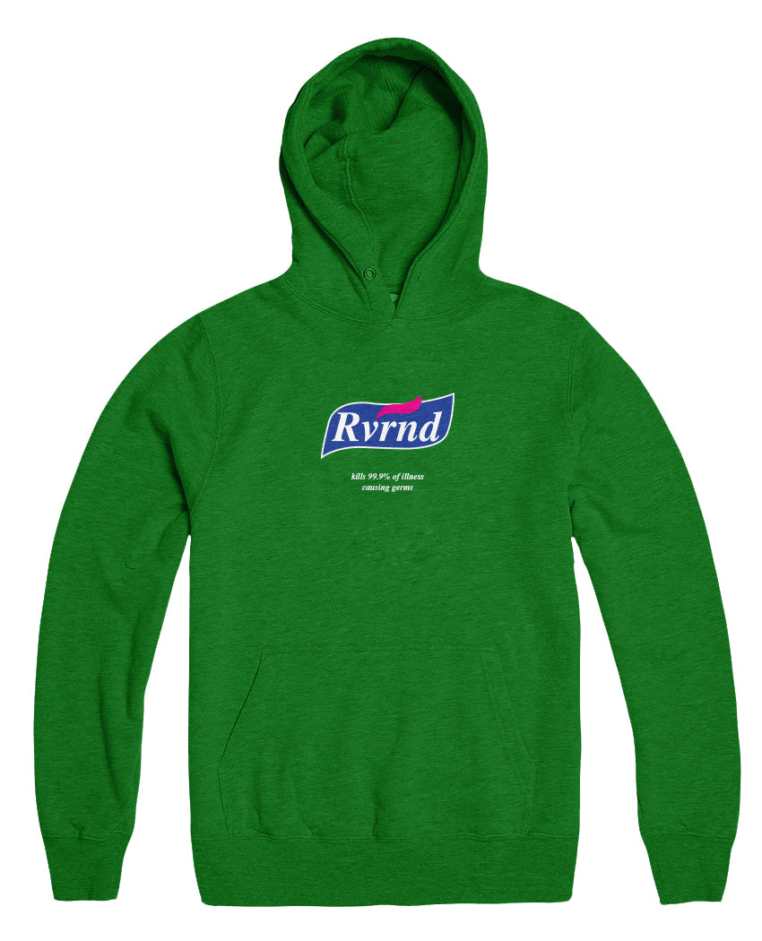 Sanitize Pullover - Kelly Green