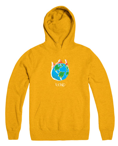 My World Pullover - Gold