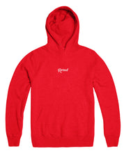 Script Stitch Pullover - Red