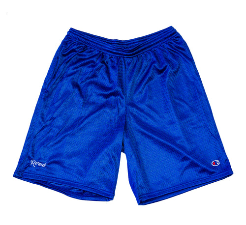 Champion Script Shorts - Royal Blue