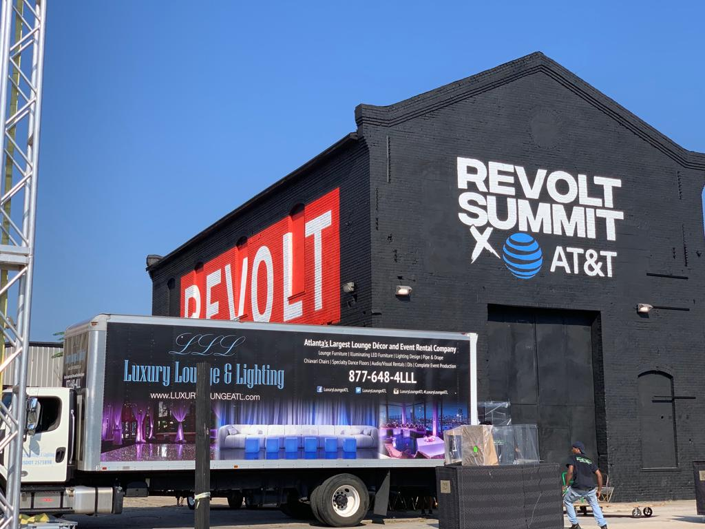 Revolt, Revolt Summit, AT&T, LLL, Luxury Lounge & Lighting