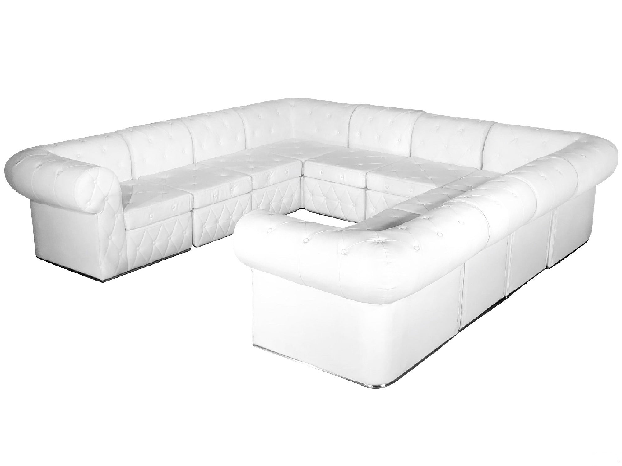 "VENETIAN 10pc ""U"" SHAPE SECTIONAL"