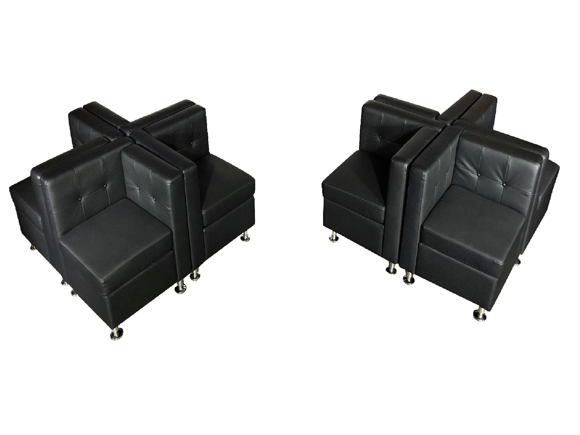 CLUB 4PC QUAD SET DOUBLE - BLACK
