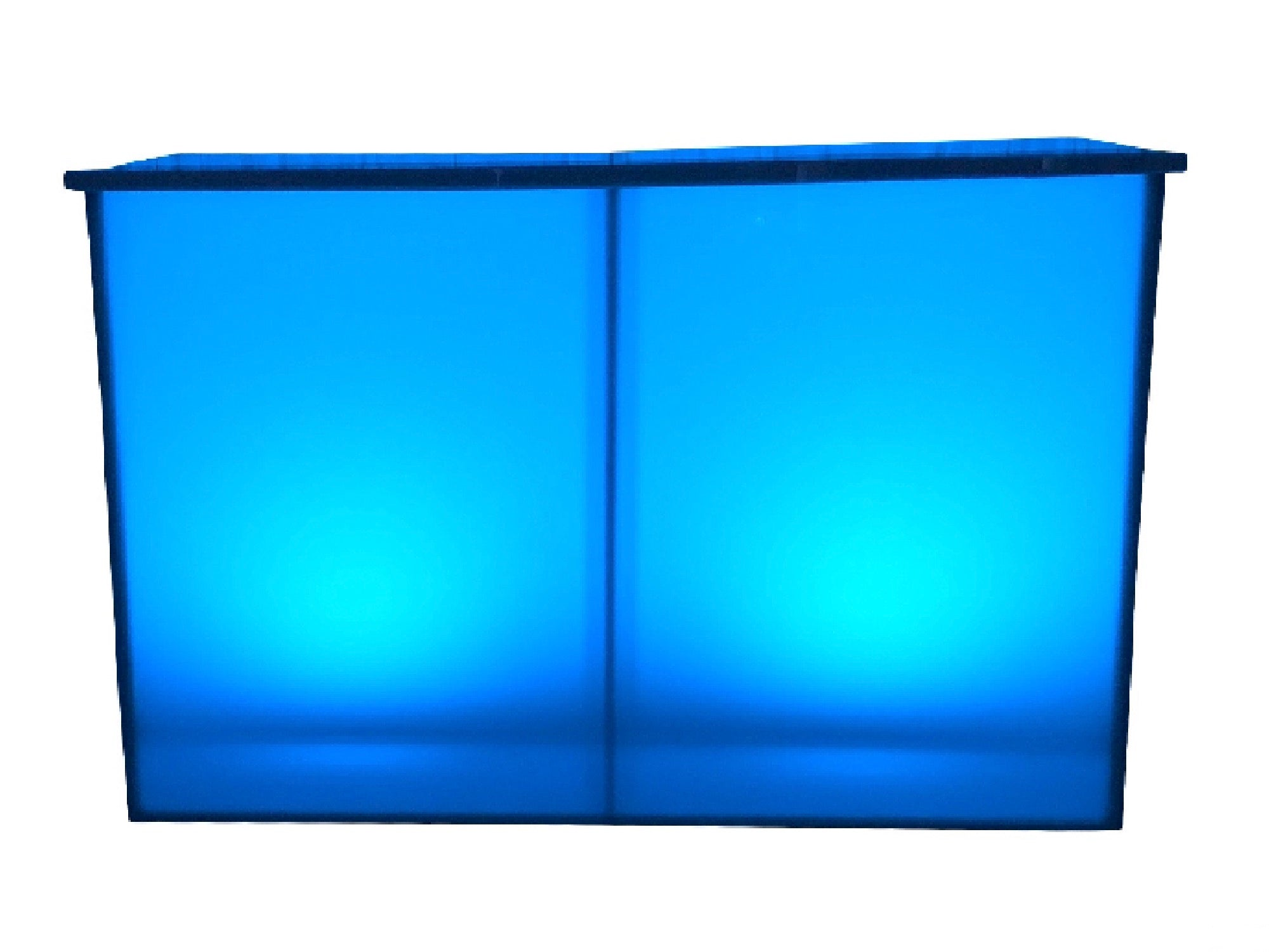 ILLUMINATED 6ft ACRYLIC BAR