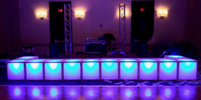 LED ACRYLIC STAGE PIECE | H 16""