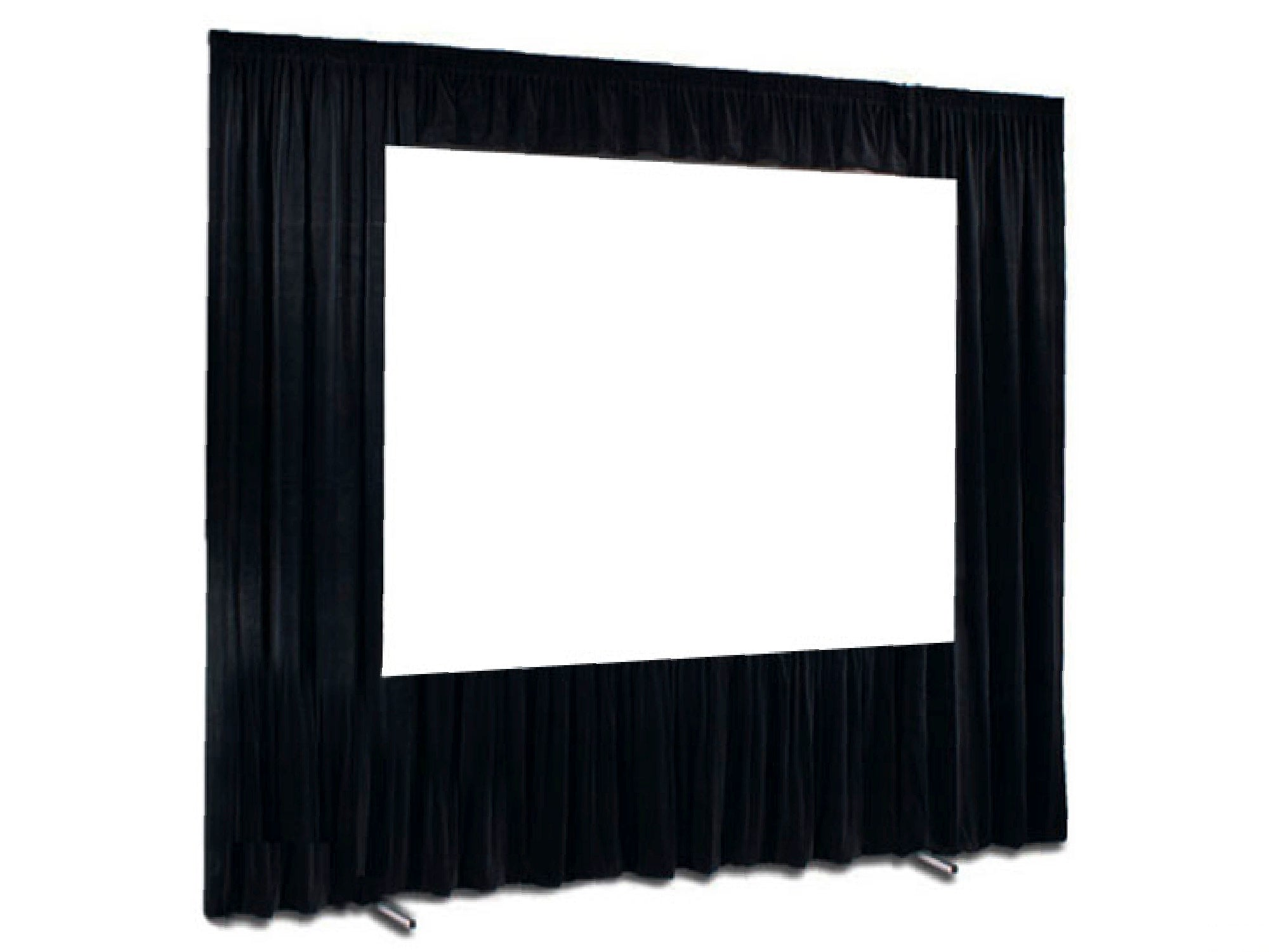 FAST FOLD SCREEN & BLACK DRESS KIT | 7' X 10'