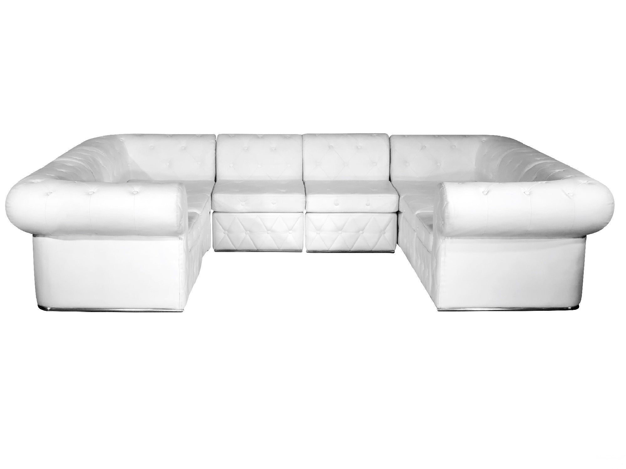 "VENETIAN 8PC ""U"" SHAPED SECTIONAL"