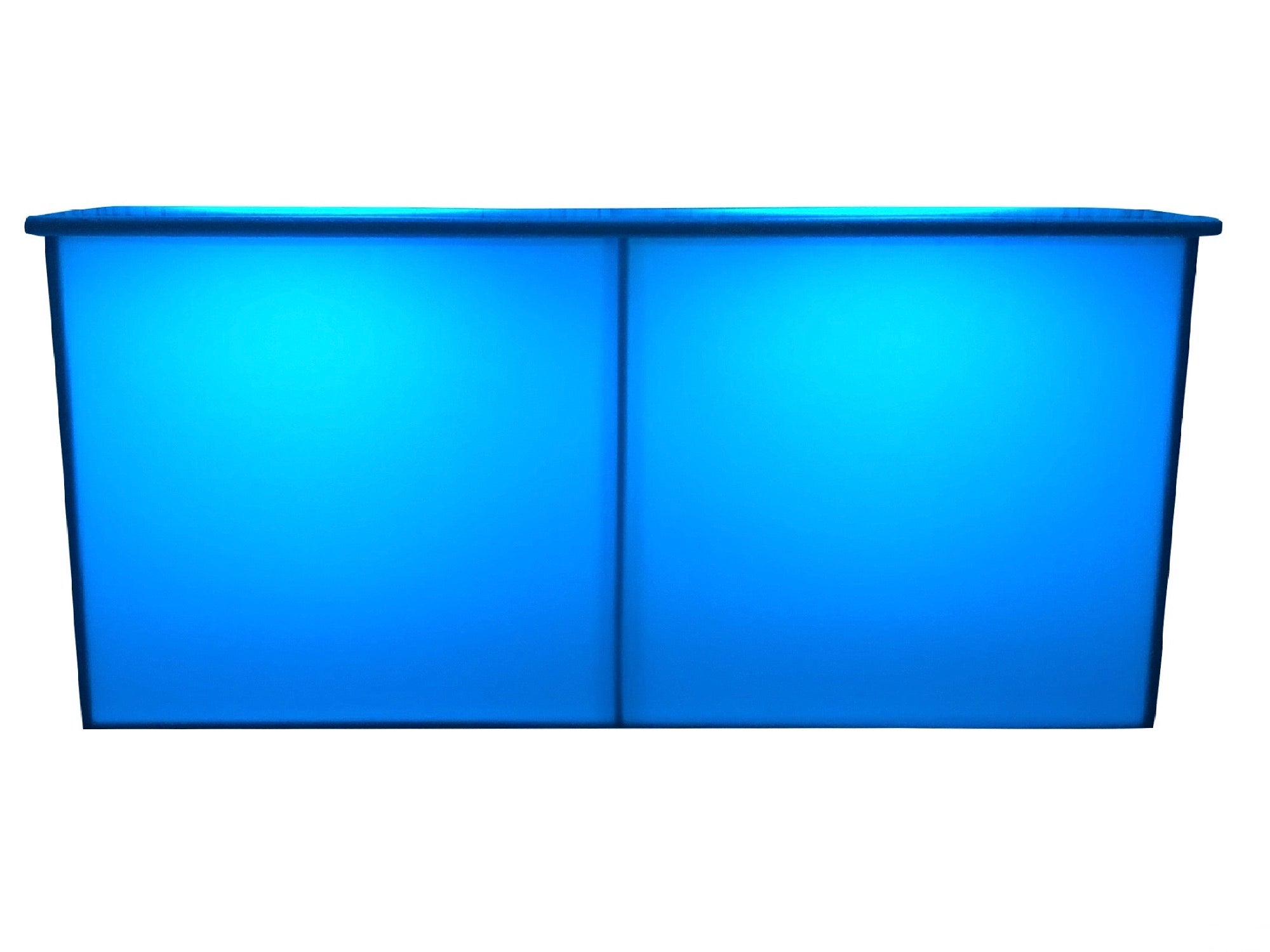 ILLUMINATED 8ft ACRYLIC BAR