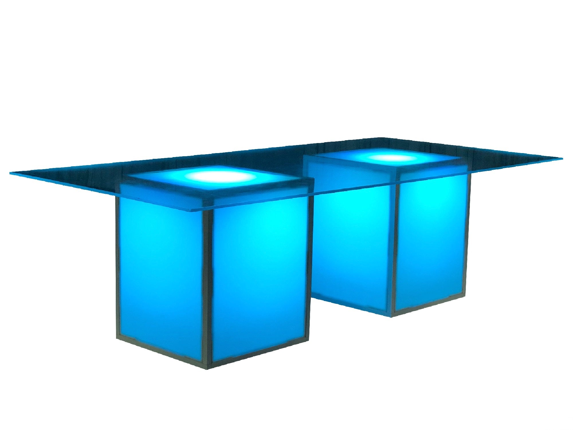 ILLUMINATED ACRYLIC ESTATE TABLE