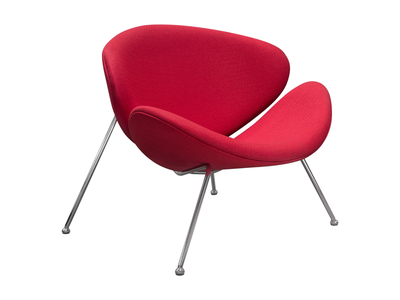 AUSTIN CHAIR - RED FABRIC