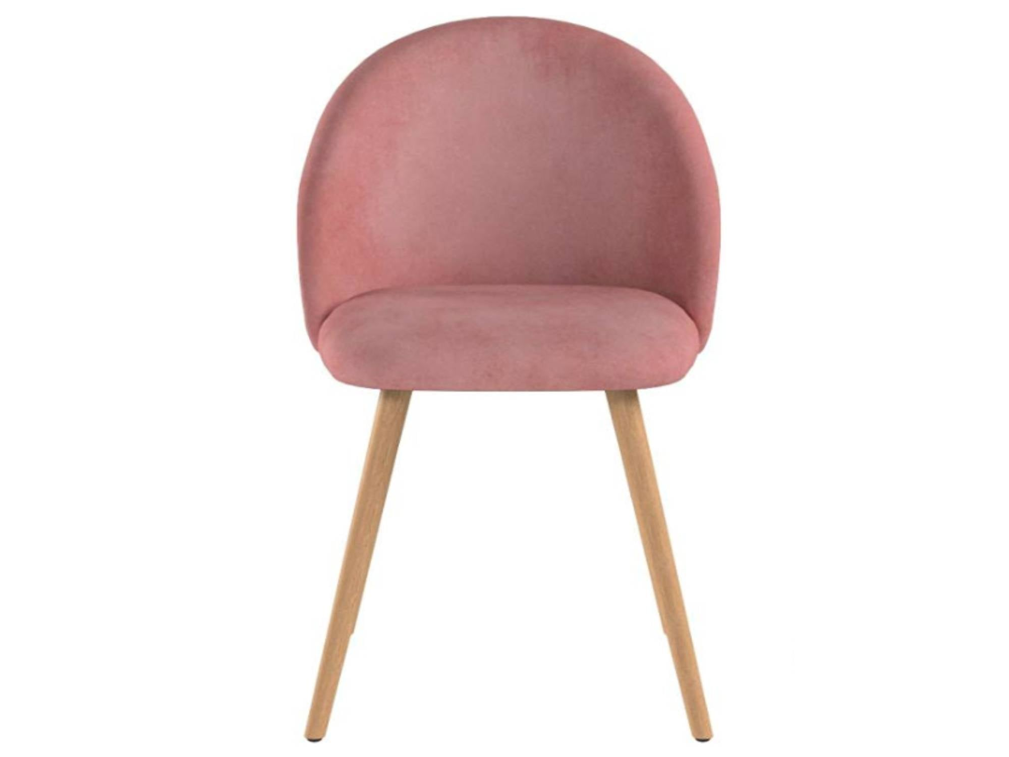 AVALON VELVET CHAIR - DUSTY ROSE