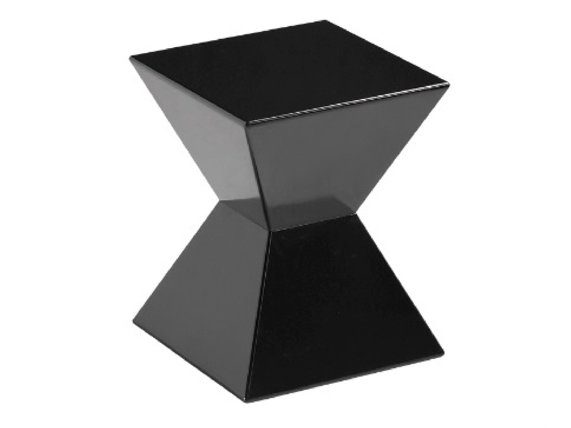 AZTEC ACCENT TABLE - BLACK