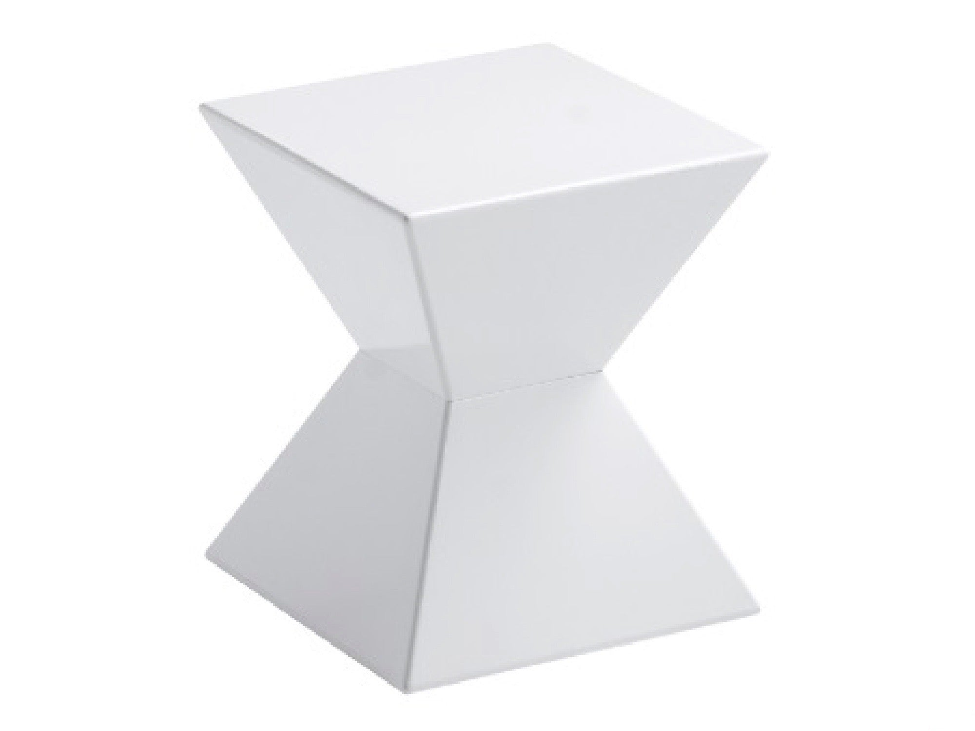 AZTEC ACCENT TABLE - WHITE