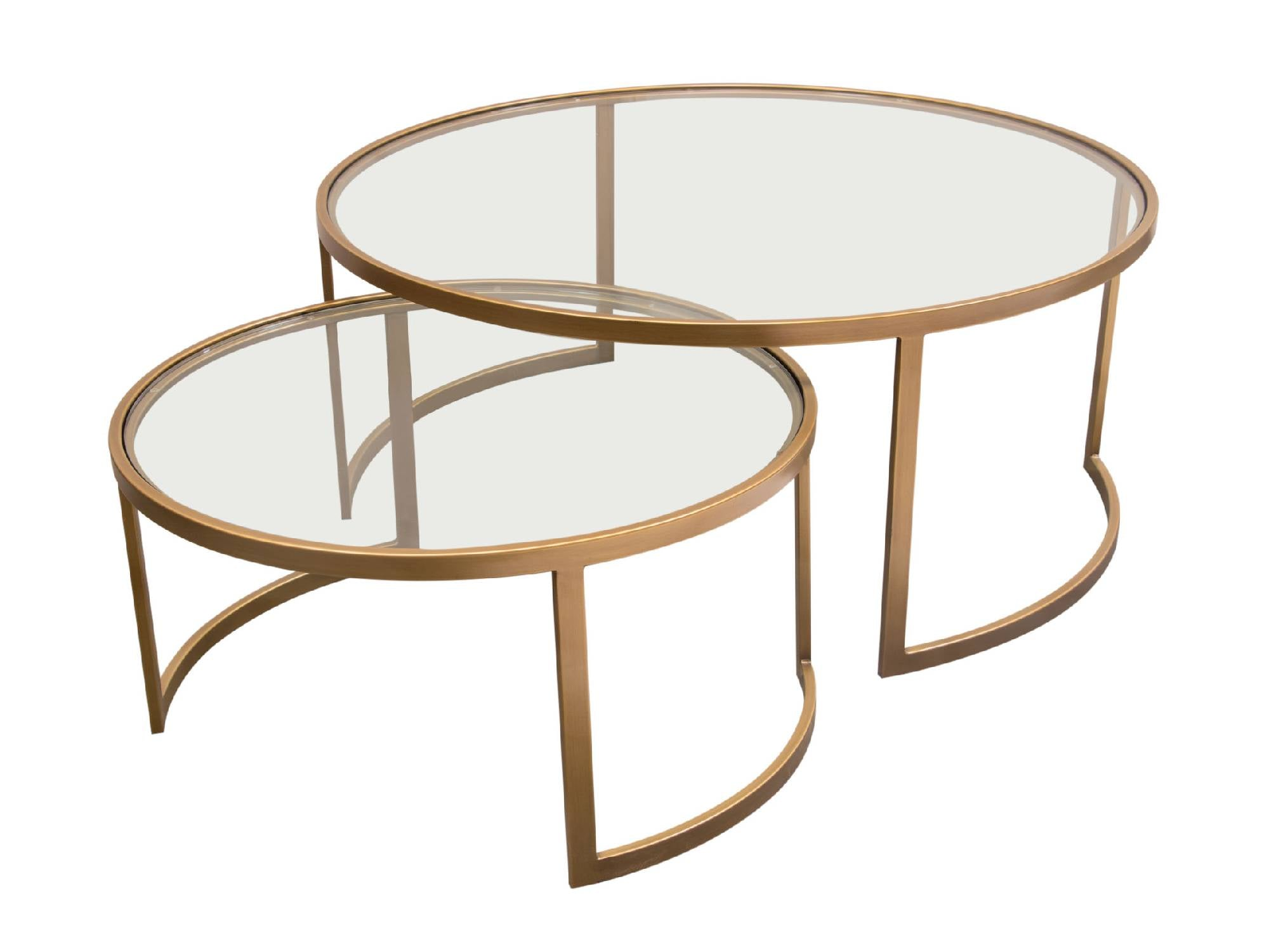 CROWN NESTING TABLE (2PC)