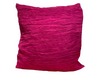 CRINKLE PILLOW - FUCHSIA