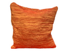 CRINKLE PILLOW - ORANGE