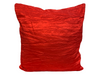 CRINKLE PILLOW - RED
