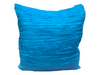 CRINKLE PILLOW - TURQUOISE 2