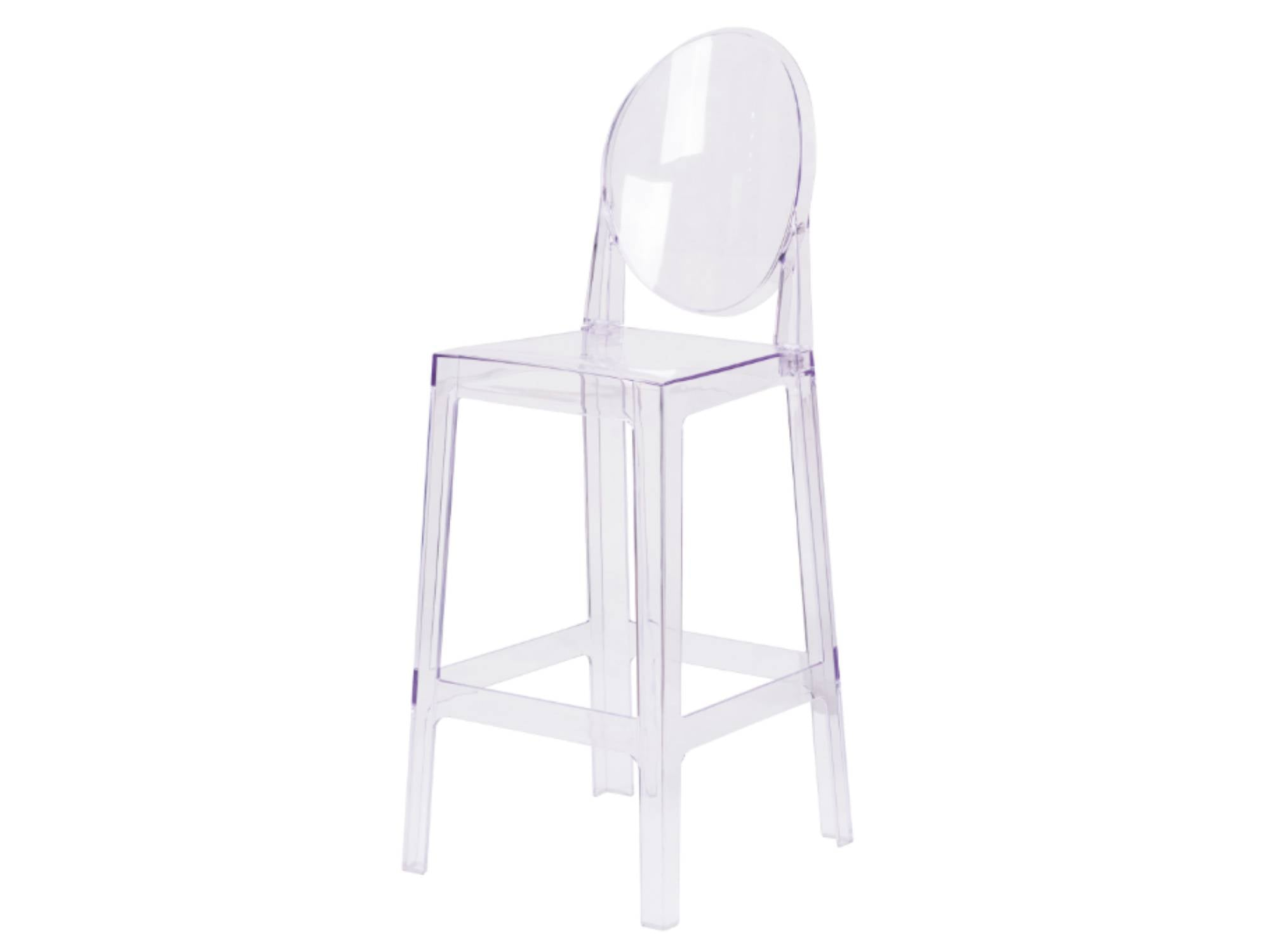 OVAL GHOST BARSTOOL