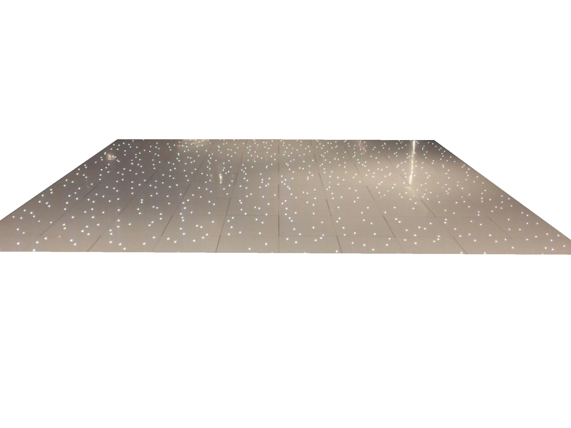 GLOSSY LED STARLIT DANCE FLOOR - WHITE