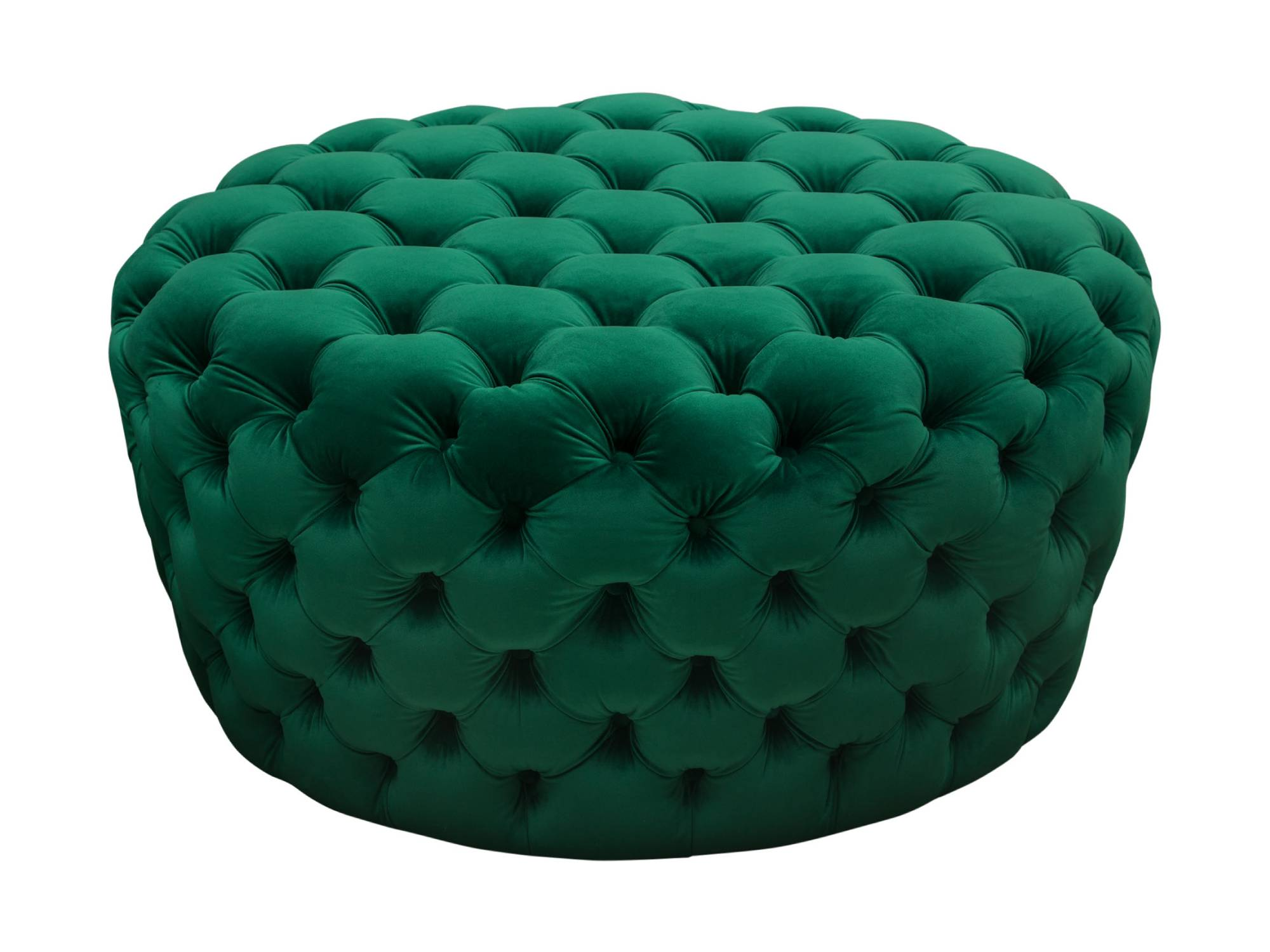 HOLLYWOOD OTTOMAN - EMERALD