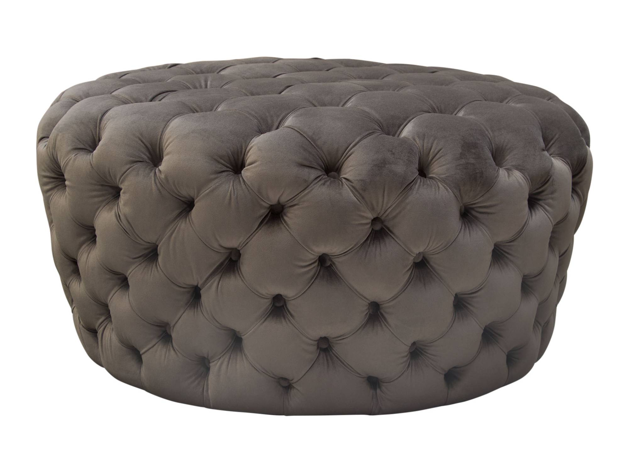 HOLLYWOOD OTTOMAN - DUSK GREY