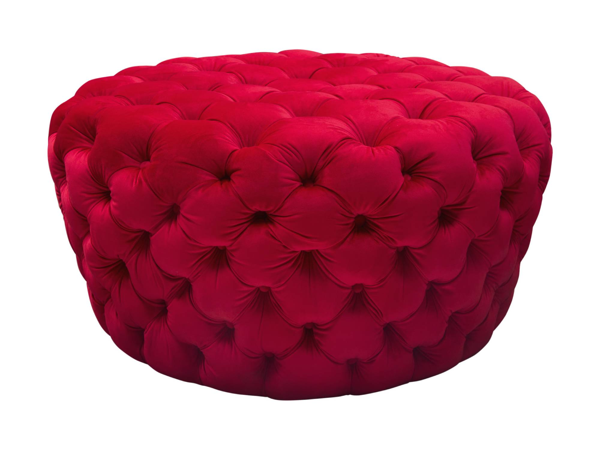 HOLLYWOOD OTTOMAN - RED