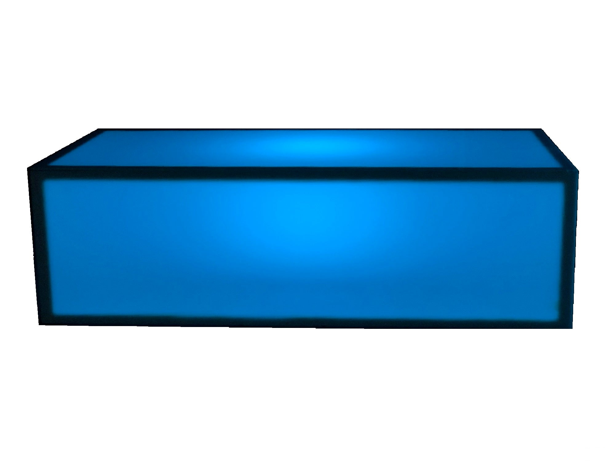 ILLUMINATED LARGE COFFEE TABLE