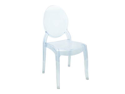 LARGE OVAL GHOST CHAIR