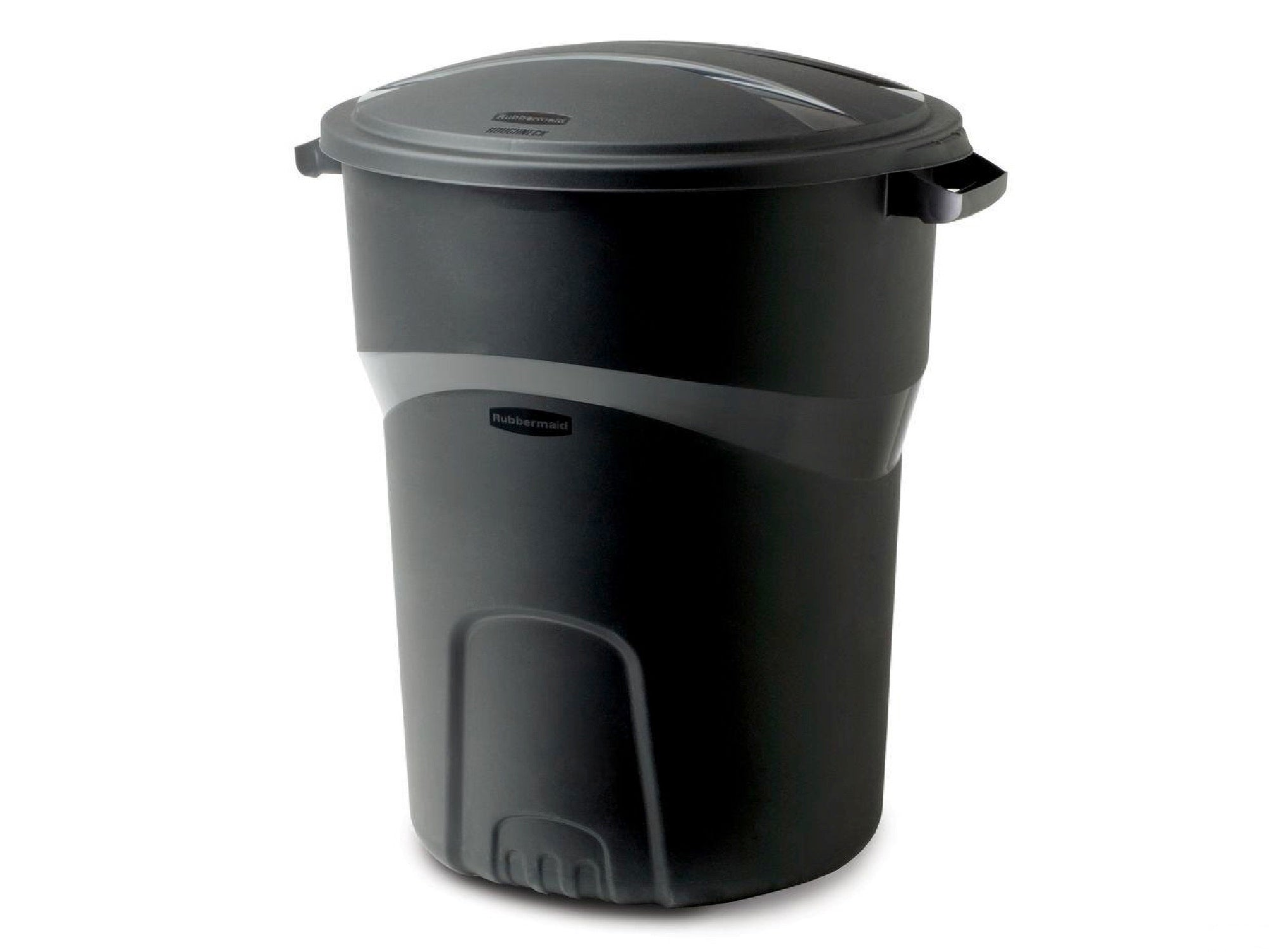 LARGE ROUND TRASH CAN | 32 GALLON